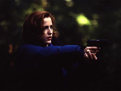 Gillian Anderson als Dana Scully